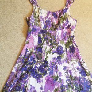 Dress Barn A-line Floral Dress